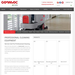 Service Cart for Professional Cleaning