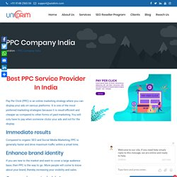Best PPC Service Provider In India