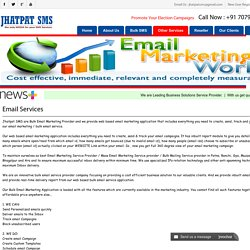 Bulk Email Marketing Patna - Jhatpat SMS
