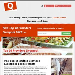 Top 10 Buffet Service Providers In Liverpool