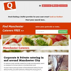 Top 10 Buffet Service Providers In Manchester
