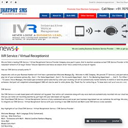 Virtual Receptionist Service Provider Patna - Jhatpat SMS