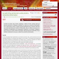 Le web 2.0 au service de la veille et de la recherche d'information