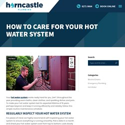 Hot Water System Service & Replacement Adelaide