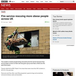 Fire service rescuing more obese people across UK