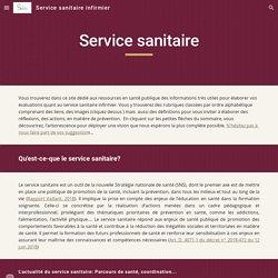 La sélection du SIDoc -Service sanitaire infirmier