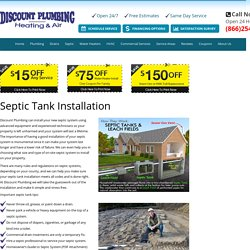 24 Hour Service – Septic Tank Installation