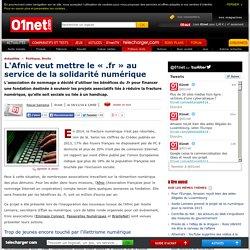 L'Afnic veut mettre le « .fr » au service de la solidarité numérique