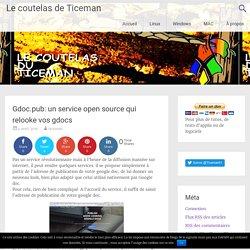 Gdoc.pub: un service open source qui relooke vos gdocs