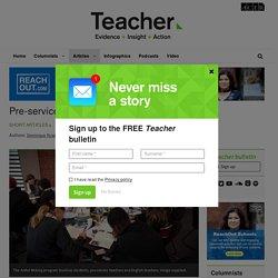 Pre-service teachers and creative writing