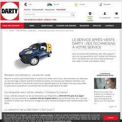 Le Service Après-Vente Darty : des techniciens à votre service