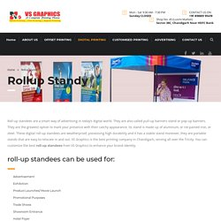 Rollup Standy Service in Chandigarh