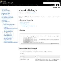 <serviceDebug>