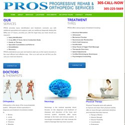 PROS Injury Rehab Centers – Chiropractors Services in Miami