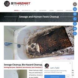 Services - Sewage Cleanup - 911hazmatcleanup