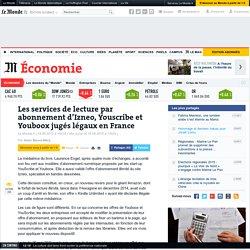 Les services de lecture par abonnement d'Izneo, Youscribe et Youboox jugés légaux en France