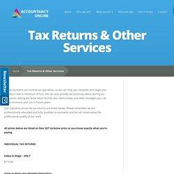 Online Tax Return Australia - accountancyonline.com.au