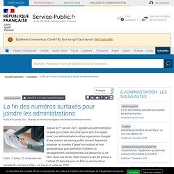 Services gratuits -La fin des numéros surtaxés pour joindre les administrations