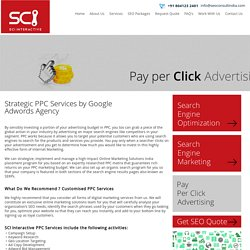 Google Adwords Agency - SCI Interactive
