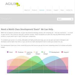 Services - AgilixAgilix