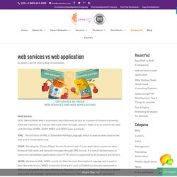 Web Services vs Web Applications