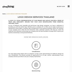 Logo Design in Thailand - ChaChing Group Co., Ltd