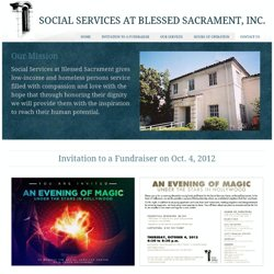 Social Services at Blessed Sacrament, Inc.