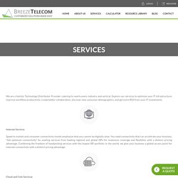 Services - Breeze Telecom