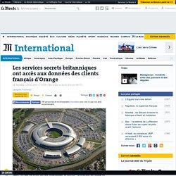 Les services secrets britanniques ont accès aux données des clients français d'Orange