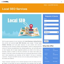 Get Local Business Listing Services and Boost Your Business Up