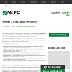 Managed Services - Let Your Business Flourish With Managed IT Support