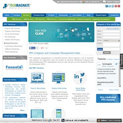 Techmagnate- Premier Pay Per Click (PPC) Services Company in India