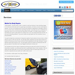 Car Cosmetics Services