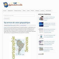 Top services de cartes géographiques