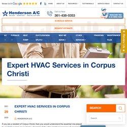 Expert HVAC Services in Corpus Christi