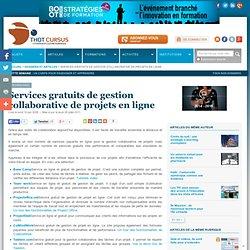 Services gratuits de gestion collaborative de projets en ligne