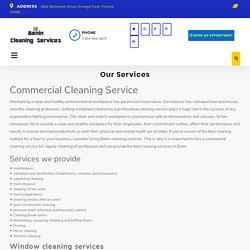 Reliable Commercial Cleaning in Orange Park