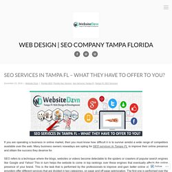 SEO Services in Tampa FL – What They Have to Offer to You?
