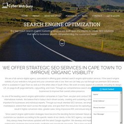 Best Seo services in Cape Town