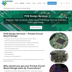 Complex Circuit Board Design by Experts