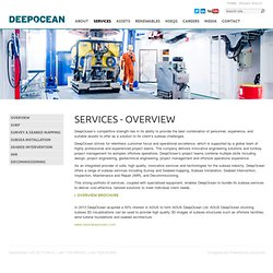 Services - Deep Ocean Group