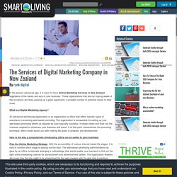 The Services of Digital Marketing Company in New Zealand
