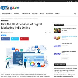 Hire the Best Services of Digital Marketing India Online