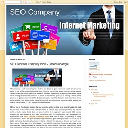 SEO Company: SEO Services Company India - DimensionAngle