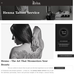 Best Henna tattoo Design in Henderson NV