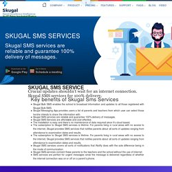 Skugal SMS Services - encourage your parents for day to day exercises of their children.