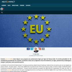 Le Digital Services Act expliqué ligne par ligne (articles 1 à 24)