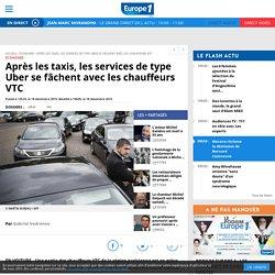 Après les taxis, les services de type Uber se fâchent avec les chauffeurs VTC