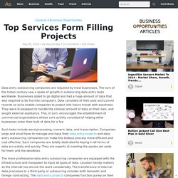 Top Services Form Filling Projects