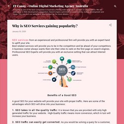 Why is SEO Services gaining popularity?